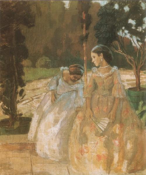 Гобелен. 1901 Государственная Третьяковская галерея, Москва