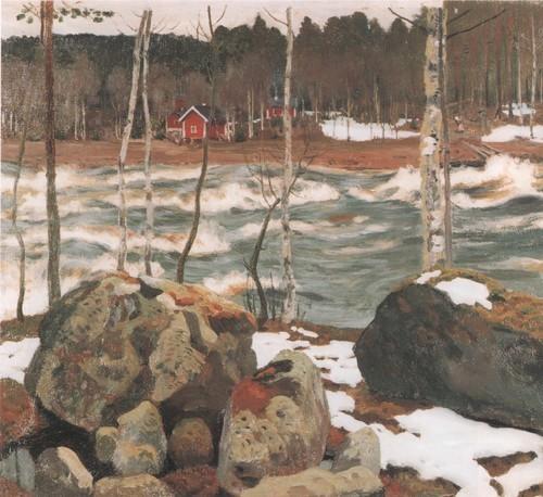 Гремящая река . 1917