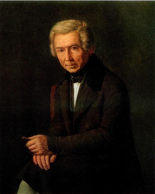 Григорий Сорока. Портрет художника Алексея Гавриловича Венецианова. 1840-е