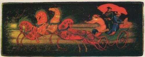 Г. Кочетов. Коробочка «Тачанка». 1979.