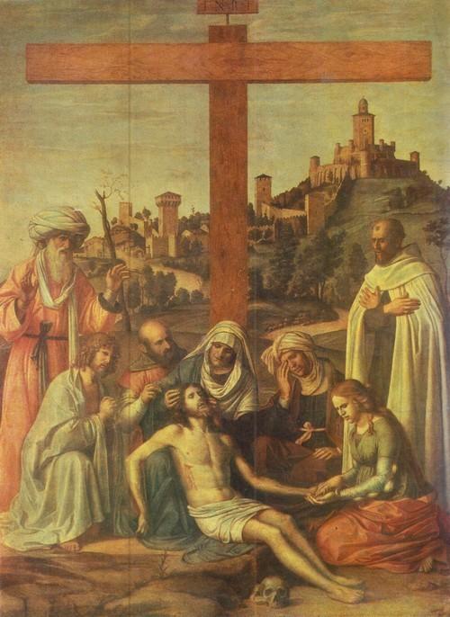 Джованни Баттиста Чима да Конельяно Снятие с креста
