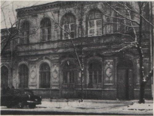 Дом в Самаре, где находилась школа Ф.Е. Бурова