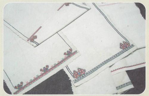 Заготовка для мокшанской рубахи. 40-е гг. XX в. Республика Мордовия, Краснослободский район