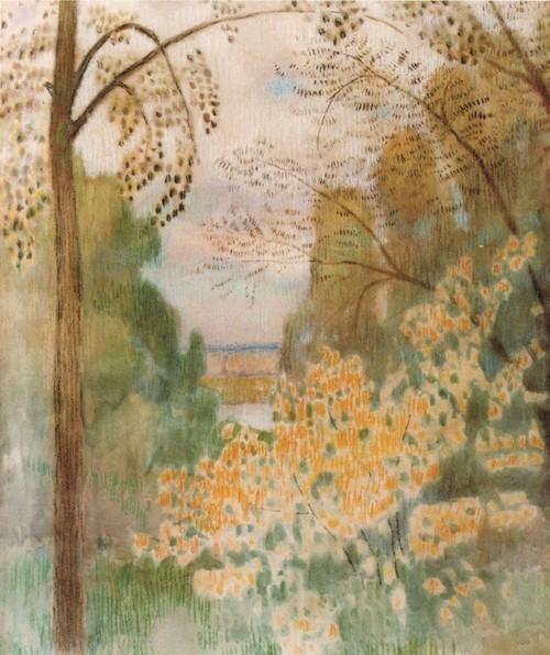 Куст орешника. 1905