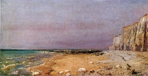 Нормандский берег. 1874