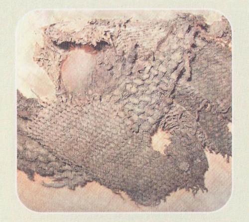 Образцы древнего ткачества. IX — X вв. Примокшанье
