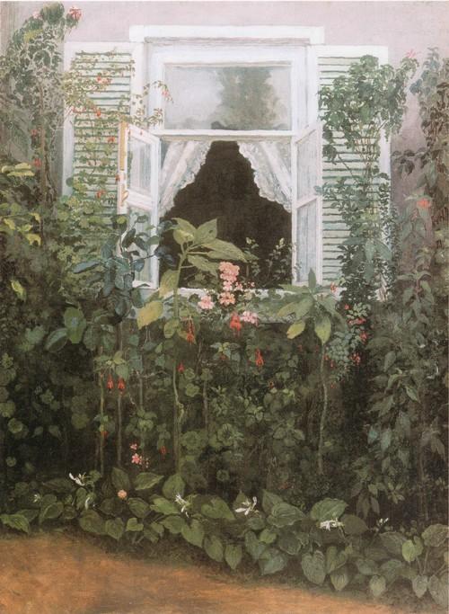 Окно. 1886 Государственная Третьяковская галерея, Москва