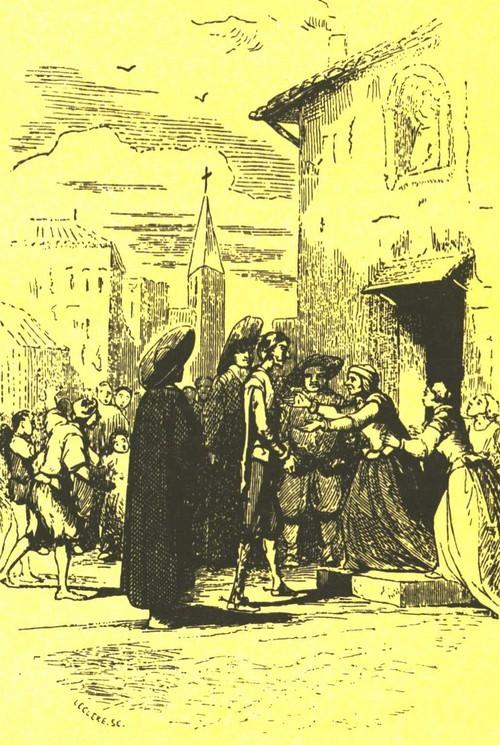 О. Леклер. Ксилография. 1837