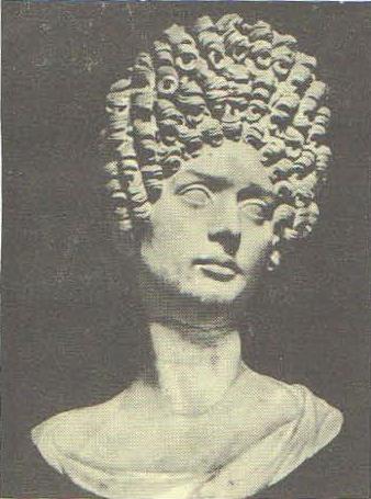 Портрет дамы. Мрамор. 80—90-е гг. н. э. Рим. Капитолийский музей.