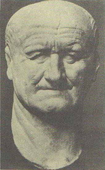 Портрет императора Веспасиана. Мрамор. 70-е гг. н.э. Нью-Йорк