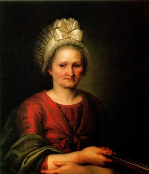 Портрет матери художника Анны Лукиничны Венециановой . 1801