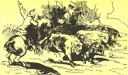 П. Суайе. Ксилография 1837