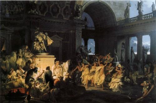 Римская оргия блестящих времен цезаризма 1872 Государственный Русский музей, Санкт-Петербург
