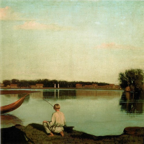 Сорока. картина рыбаки