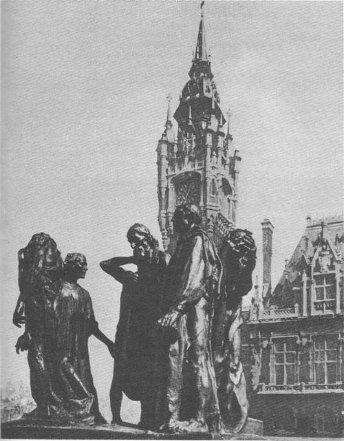 Скульптура Граждане города Кале