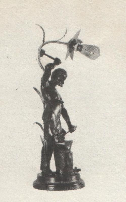 Скульптурная композиция «Большой Коваль». Подарок рабочих Кусинского завода.
