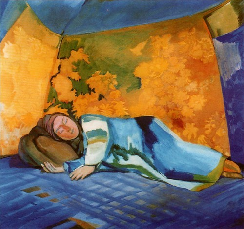 Спящая в кошаре. 1911