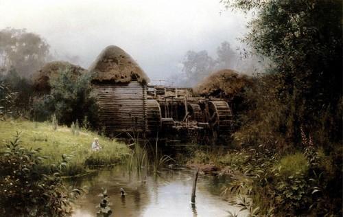 Старая мельница. 1880