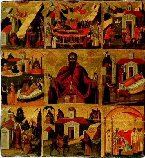С.В. Феодосий великий в житии. Начало XVII века.