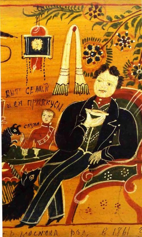 Федор Семенович Краснояров - один из крупнейших мастеров городецкого промысла.