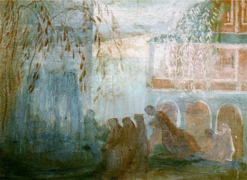 Фонтан. Этюд. 1904-1905
