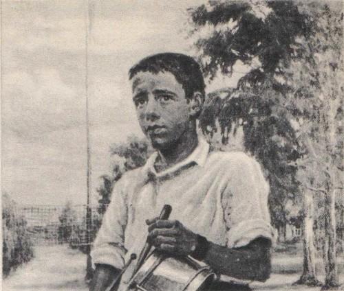 Ф. Нестеров. Барабанщик. Из серии «Учителя, школьники, пионеры». Масло. 1931 —1932.