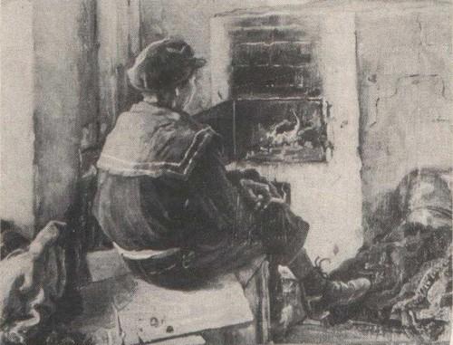 Ф. Нестеров. Отречемся от старого мира… Масло. 1932.