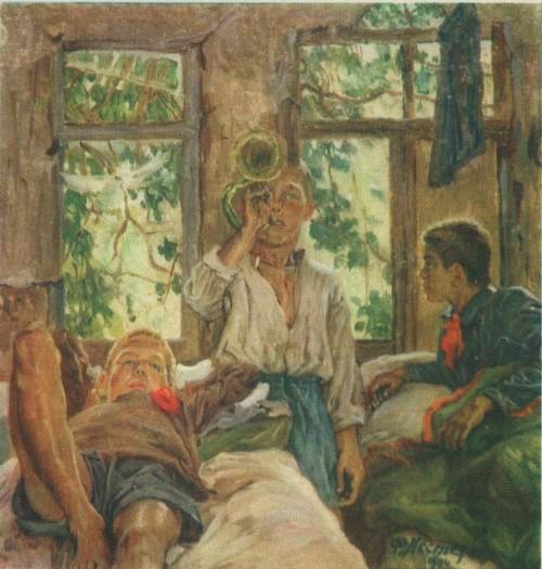 Творчество Федора Панфиловича Нестерова