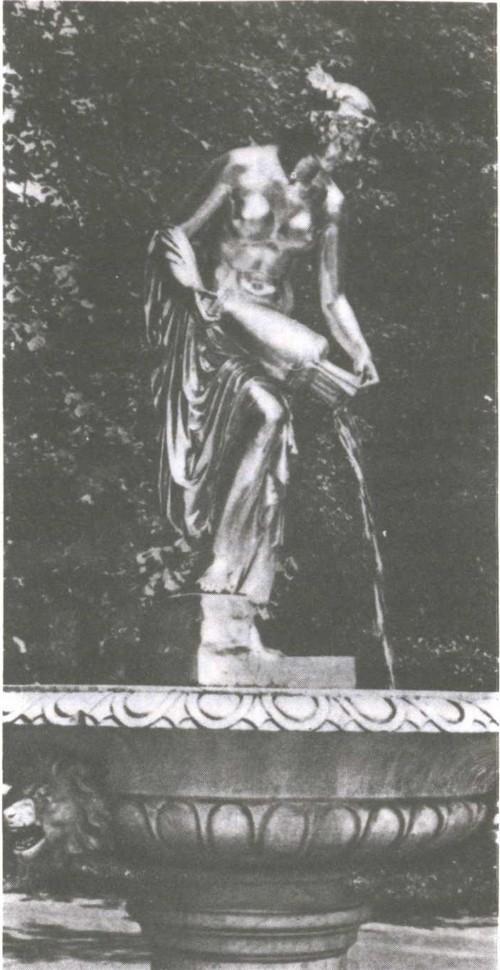Х. Раух. Данаида. Начало XVIII века