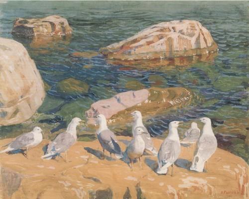 Чайки. 1910