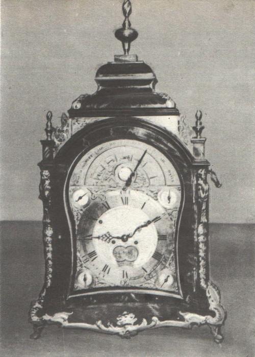 Часы. Англия. XVIII
