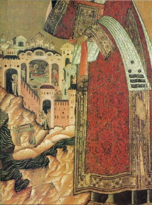 Чирин П. Климент, папа римский. Деталь, г. Усолье.