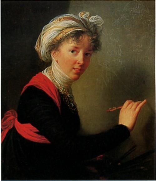 Элизабет Виже-Лебрен. Автопортрет. 1800