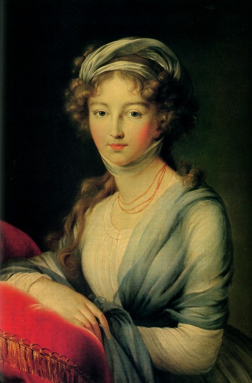 Элизабет Виже-Лебрен. Великая княгиня Елизавета Алексеевна