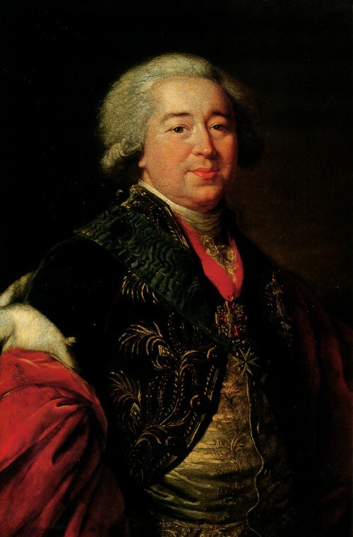 Элизабет Виже-Лебрен. Князь А.Б. Куракин. 1797