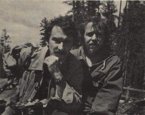 Евгений Пожарский и Виктор Викторов
