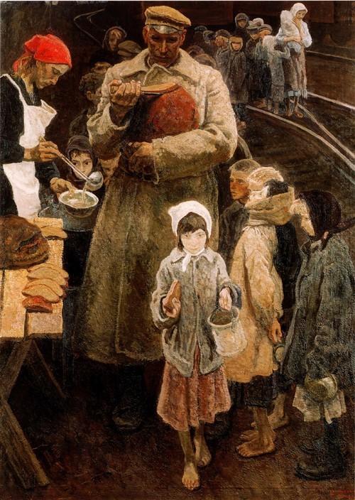 А. и С. Ткачевы. Хлеб республики . 1970
