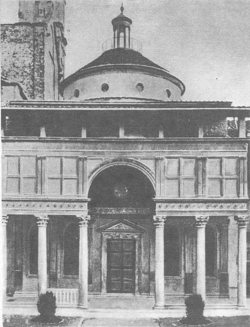 Брунеллески. Оспедале дельи Инноченти. Флоренция. Начат в 1419 г.