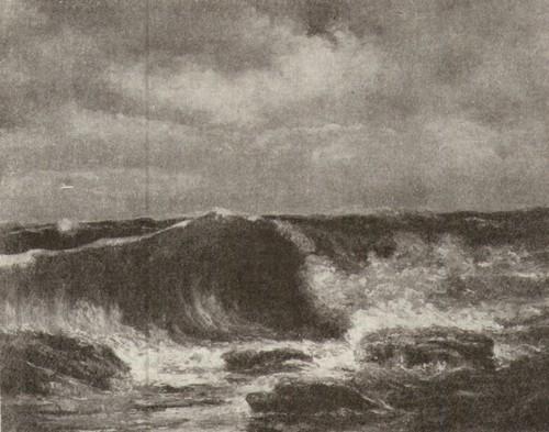 Гюстав Курбе. Волна