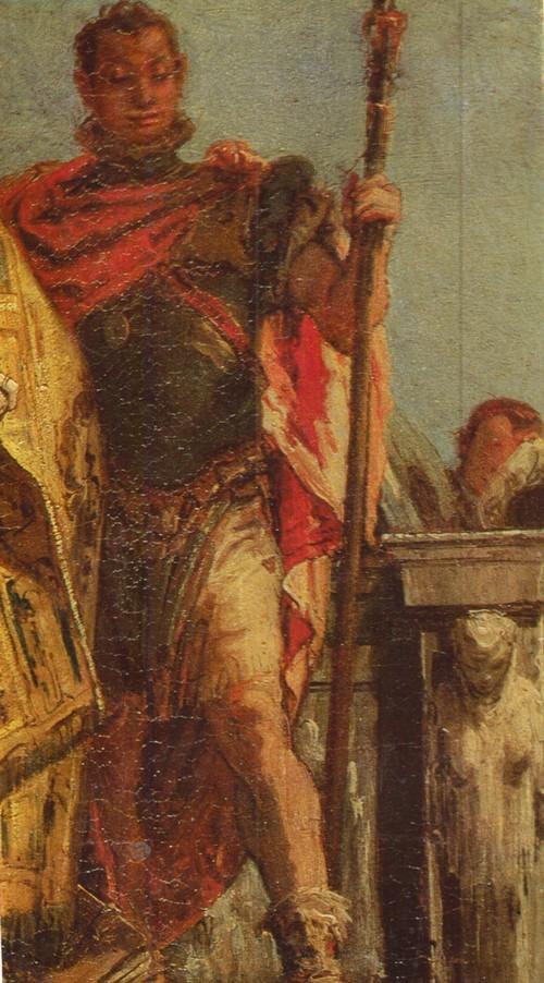 Джованни Баттиста Тьеполо Двое святых. Фрагмент