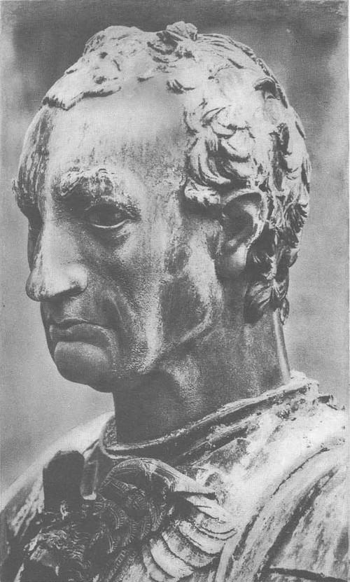 До нателл о. Памятник кондотьеру Гаттамелате. Фрагмент. Падуя. 1447—1453.