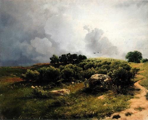 Заброшенная мельница. 1872.