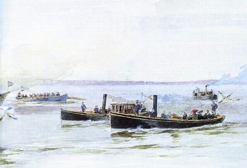 Императорская яхта Полярная звезда. 1890