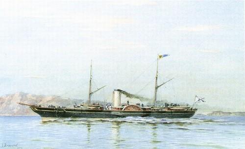 Императорская яхта Штандарт 1858-1879