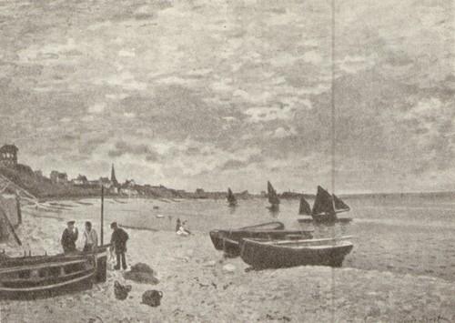 Клод Моне. Пляж в Сан-Адрессе