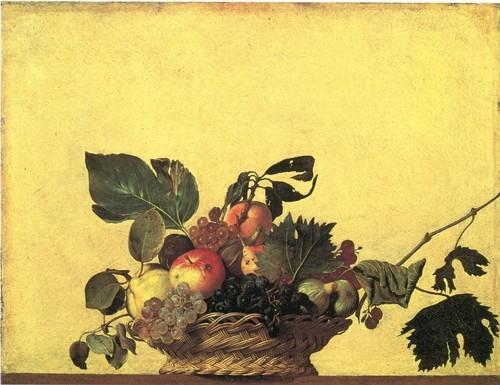 Корзина с фруктами 46 х 64,5 см Милан, Пинакотека Амброзиана