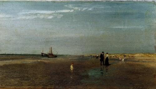 Ла Панн. Пляж. 1895