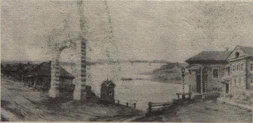 Мариинск. Мост через Кию.