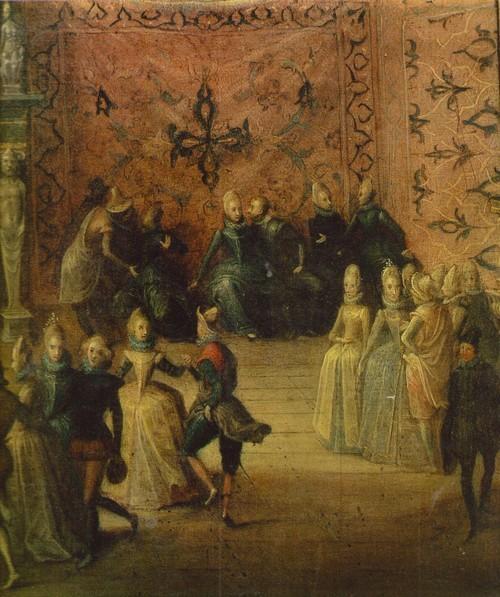 Мартин Пепейн Придворный бал 1575 — около 1642. Фрагмент