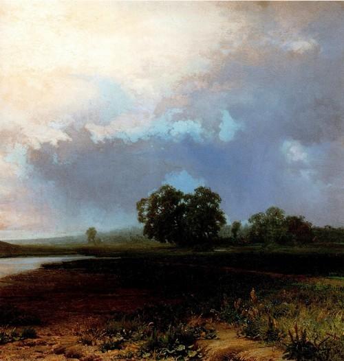 Мокрый луг. 1872